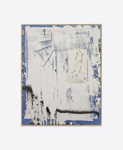 Untitled (Blue #5) 50x40 cm acrylic and spray paint on canvas - for sales and inquiries  info@filiperealmarinheiro.com