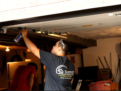 Garage Door Preventive Maintenance