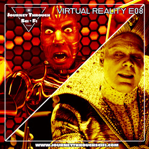 VR E08: The Lawnmower Man (1992) & The Cell (2000) With Guest Mike Muncer Of Evolution Of Horror