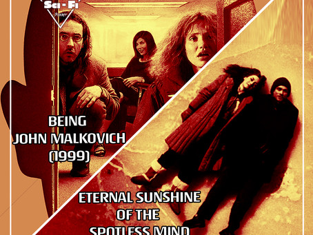 VR E12: Being John Malkovich (1999) & Eternal Sunshine Of The Spotless Mind (2004)