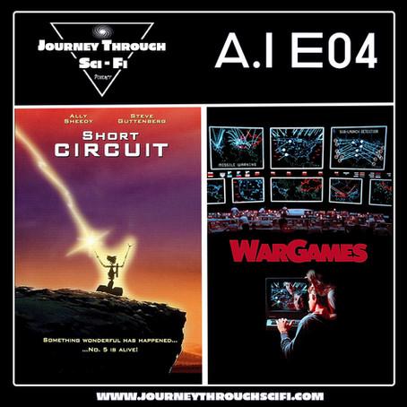 EP04 - Short Circuit (1986) & Wargames (1983)