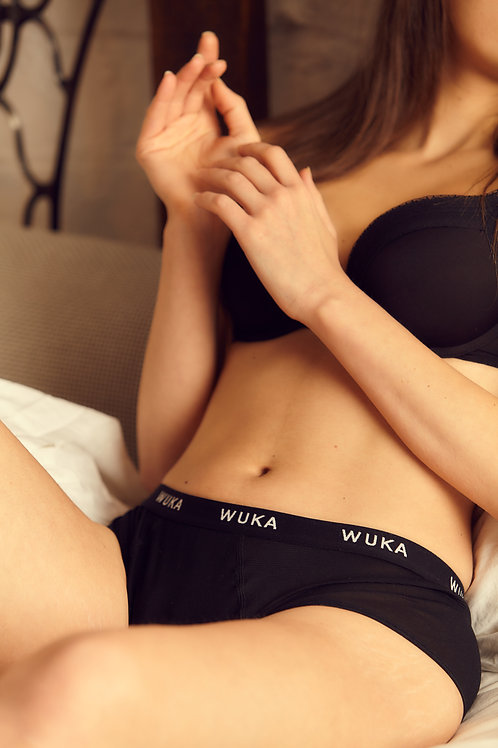 Wuka Period Pants Light Flow Midi Brief