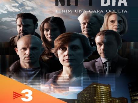 """Rodando en la nueva serie de TV3 """"Nit i dia"""", dirigida por Manuel Huerga."""