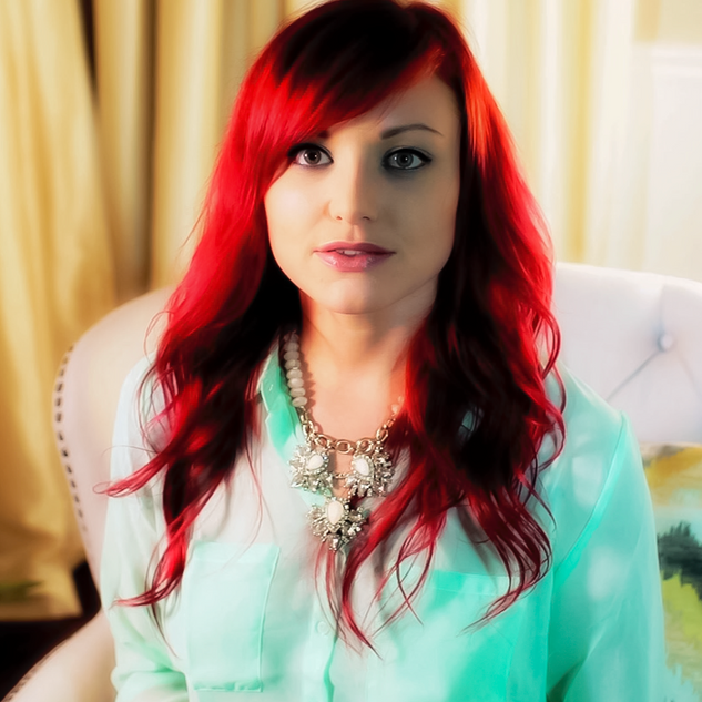 Red hair lady