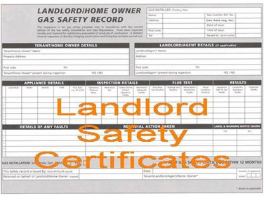 Gas safety reports