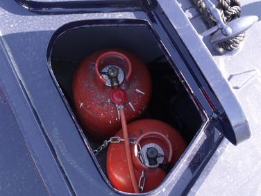 Boat gas service