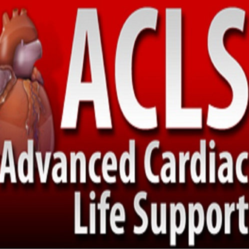 Advanced Cardiac Life Support (ACLS) Full Class