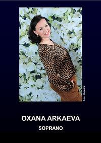 Oxana Arkaeva CV English