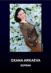 Oxana Arkaeva CV Deutsch