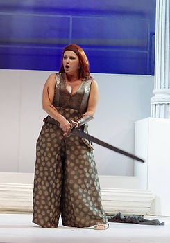 "Abigaille in ""Nabucco"".@private"