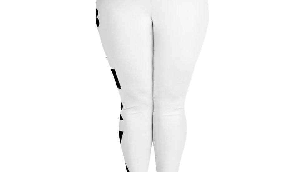 BLMRVA All-Over Print Plus Size Leggings