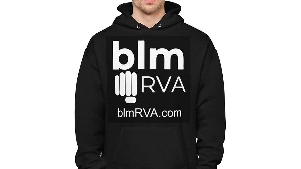 BLMRVA Unisex fleece hoodie
