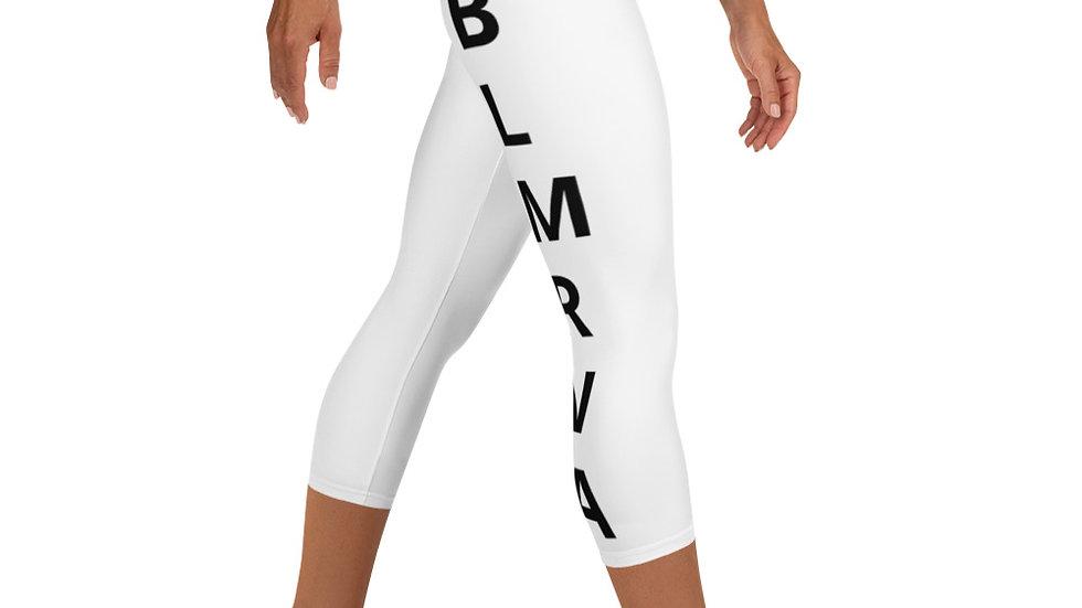 BLMRVA Yoga Capri Leggings