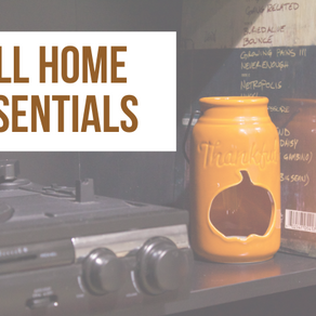 Essentials to a Fall Home