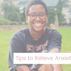 Top 3 Ways to Relieve Your Anxiety