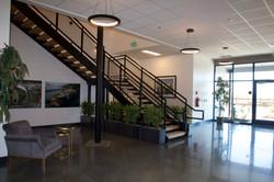 7. Lobby stairs