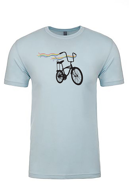 UNISEX CREW-Bike Pride Light Blue