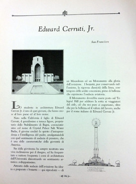 Attivita italiane edward cerruti jr.