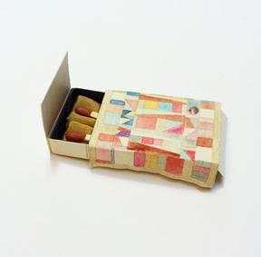 Matchbox bed by Caryn Oka.