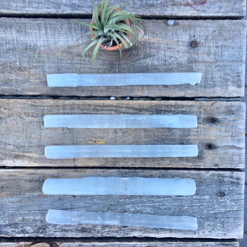 High Vibrational Selenite Wands Clear Your Auric Field