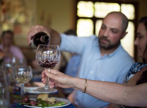 Wine Tasting and Mindful Eating