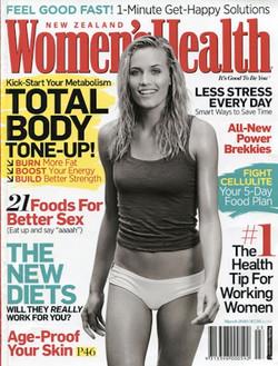 Womens Health Cover - Jill de Jong
