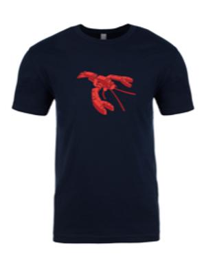UNISEX CREW-Lego Lobster Navy