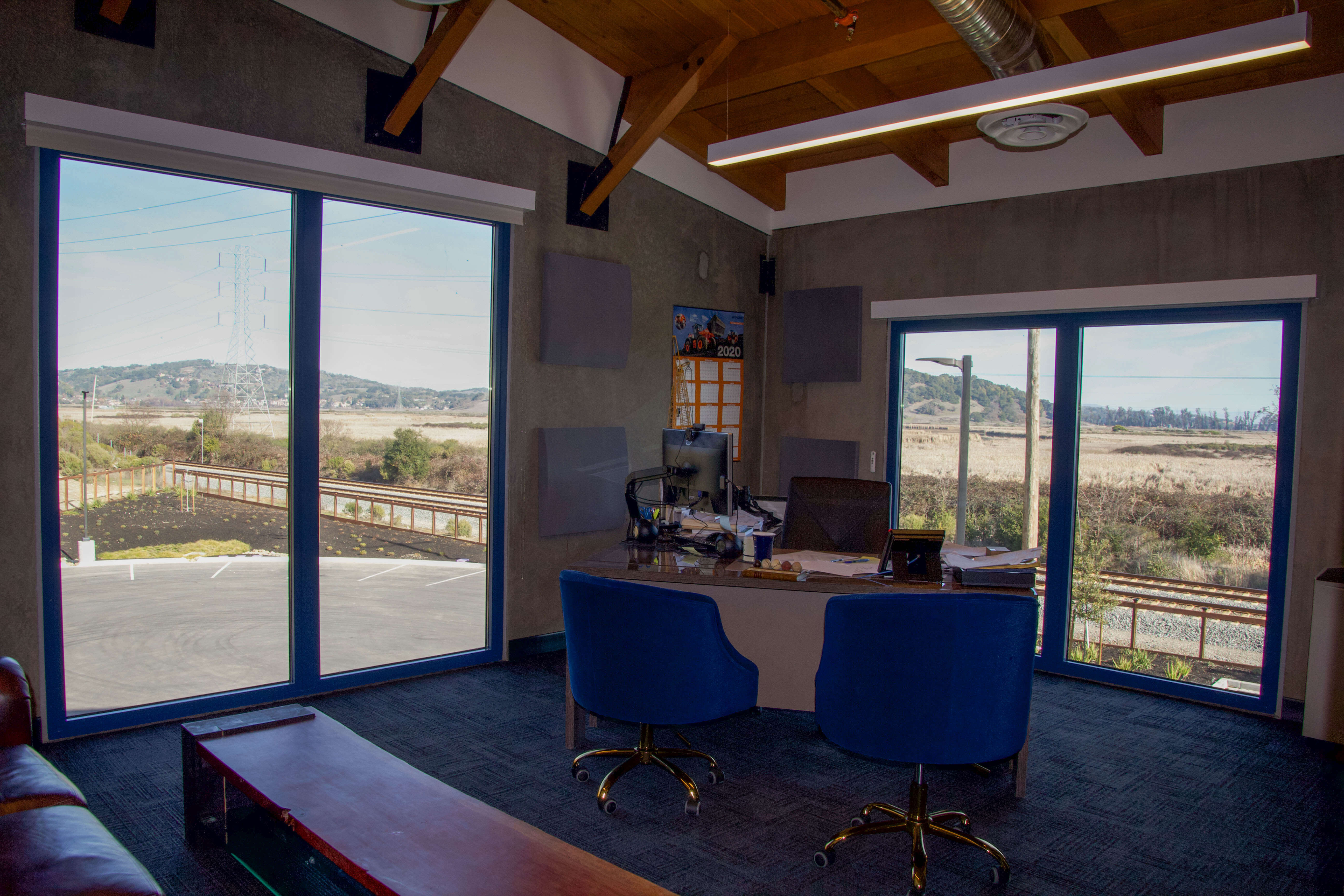 10. Executive Office with View
