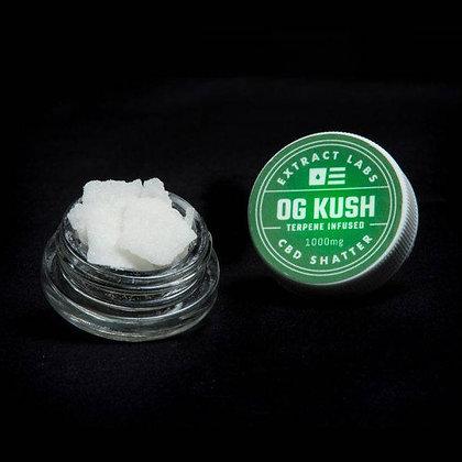 Extract Labs 1,000mg 'OG Kush' Shatter
