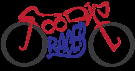 Foodie Racer Motorcycle Logo