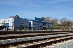2. Facade View from Railway