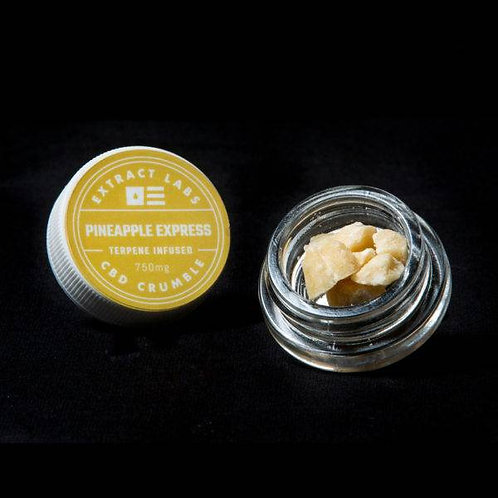 Extract Labs 1g Broad Spectrum Crumble Pineapple Express