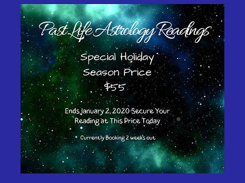 Past Life Astrology Reading