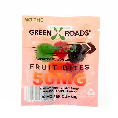 Green Roads 50mg Fruit Bites