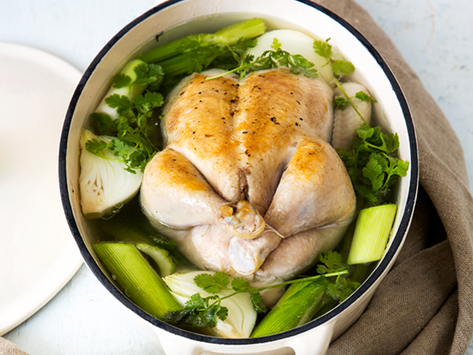 Lashie's Poached Whole Chicken