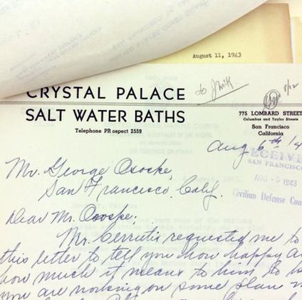 Crystal palace letterhead