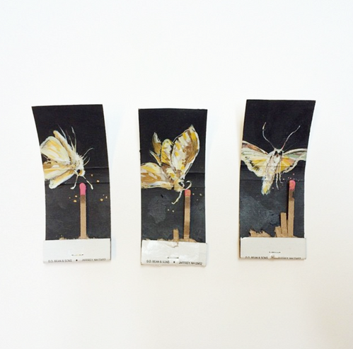 Matchbook Moths by Michael McConnell.