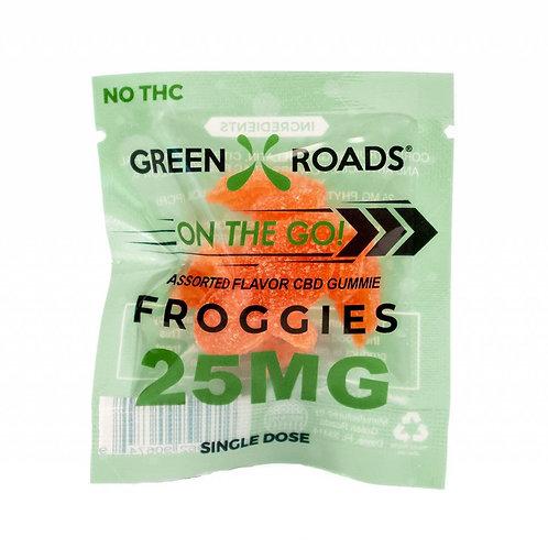 Green Roads 25mg Froggie