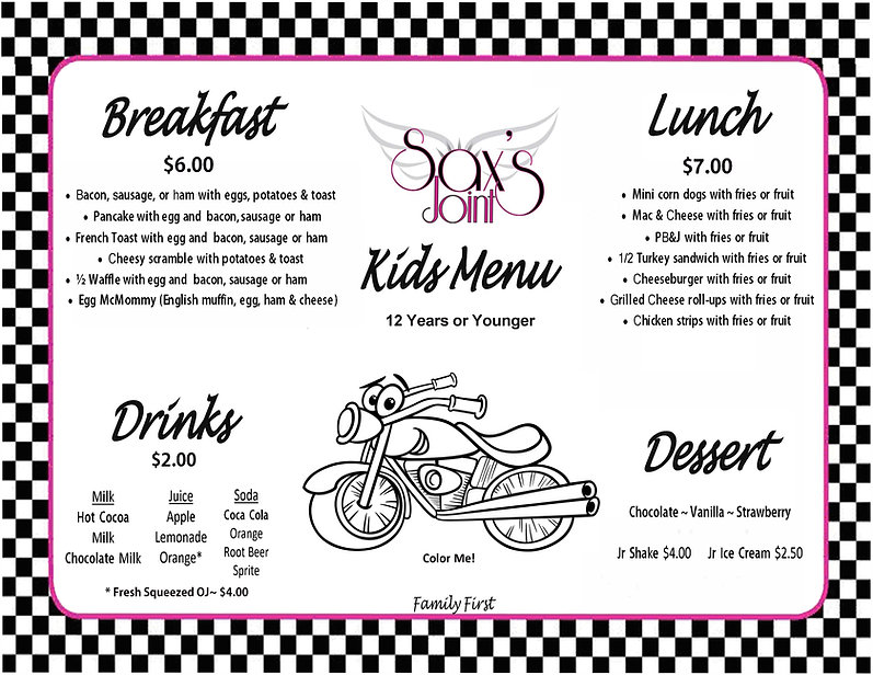 Sax's Joint Kid's Menu Front Flat.jpg
