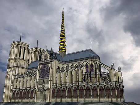 Napa Architect Designs Replacement Spire for Notre Dame Cathedral in Contest