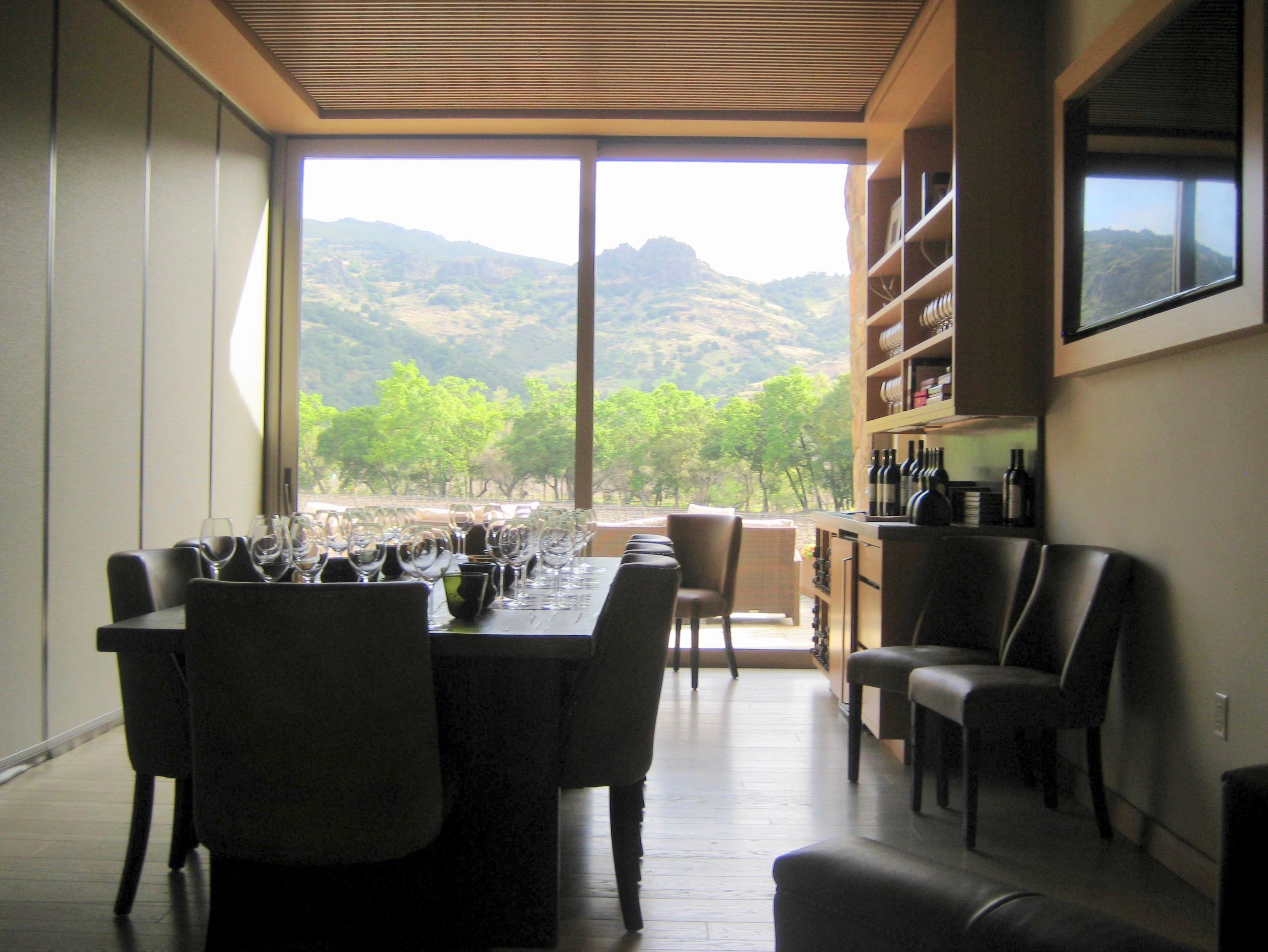 8. Private tasting room