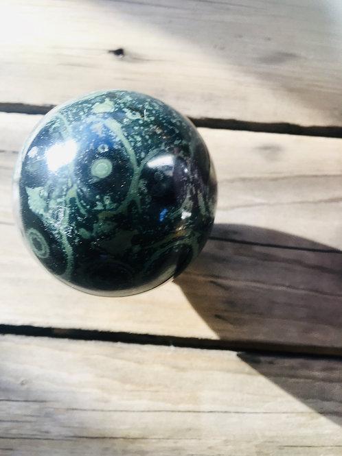 Green Kambaba Jasper Stone Sphere