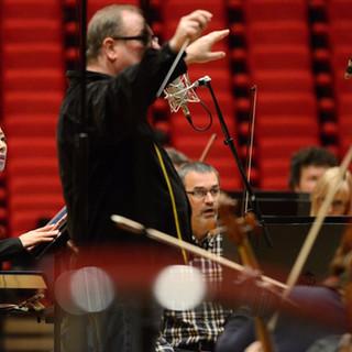 Maestro Niles Muss, Heldin Aria Recording Session 2017
