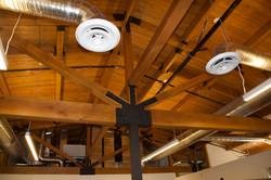 9. Second Floor Exposed Ceiling Detail