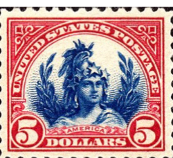 New Stamp: Lady Freedom on the Capitol Dome