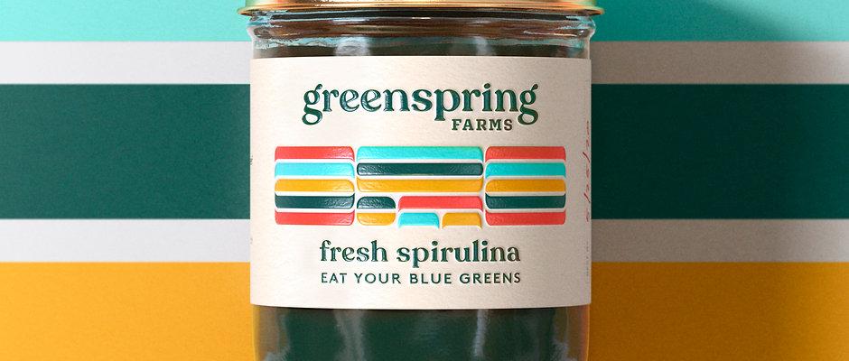 8oz Fresh Spirulina
