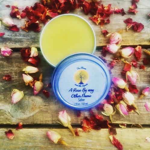 Healing Rose Balm, Rose Salve, Rose Cream to Rescue Dry Skin