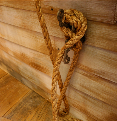 Detail from Boat bed