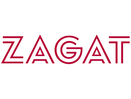 Featured in Zagat Guide