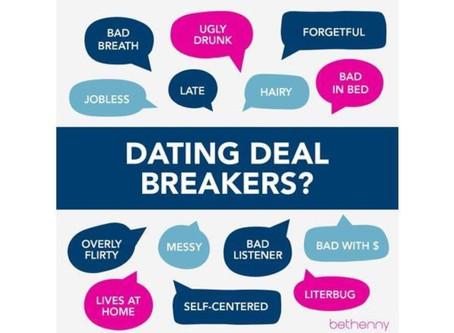 Relationship deal-breakers, Part II